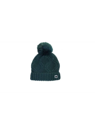 Sproet & Sprout Beanie  green pompon