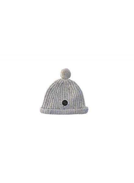 Sproet & Sprout Beanie  grey Pompon