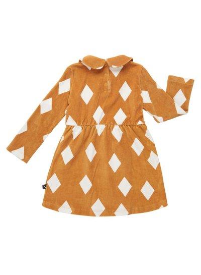 CarlijnQ Diamonds Ochre Dress