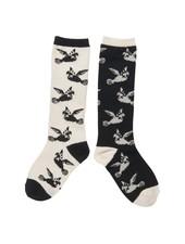 CarlijnQ Love birds knee socks