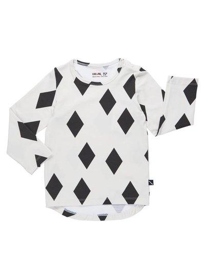 CarlijnQ Black diamonds shirt