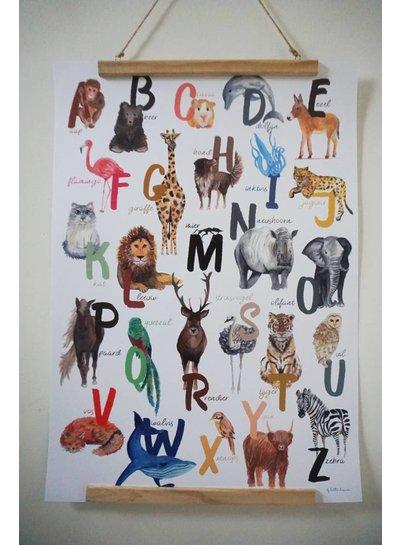Lotte Drouen ABC poster
