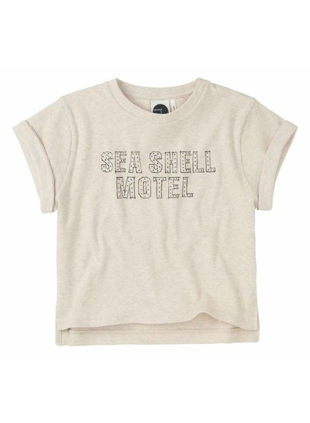 Sproet & Sprout T-shirt 'Seashell Motel' - shell melee
