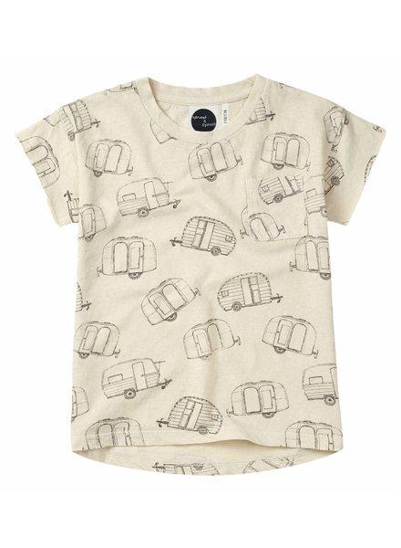 Sproet & Sprout T-shirt 'Caravan AOP' - shell