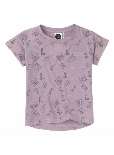 Sproet & Sprout T-shirt 'Motel AOP' - dusty violet