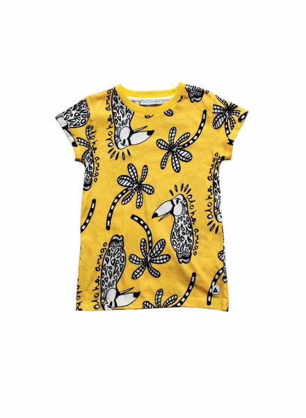 Ammehoela Tee Toucan Yellow