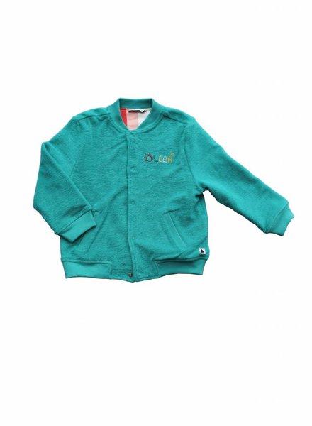 Ammehoela Reversible bomberjacket turquoise