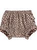 House of Jamie Ruffled shorts Leopard Caramel
