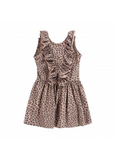 House of Jamie Sleeveless dress Leopard Caramel