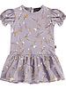 House of Jamie Bodysuit dress - Floral Dusty Lilac