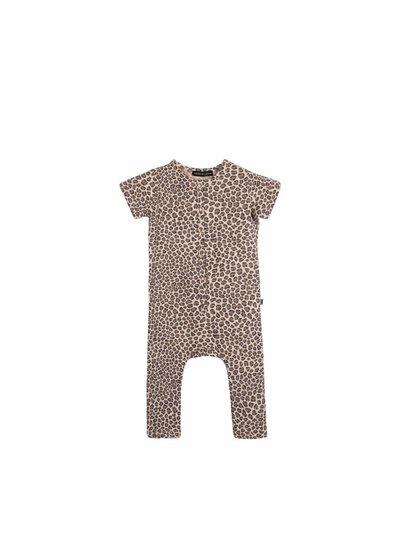 House of Jamie Laid back Jumpsuit - Caramel Leopard