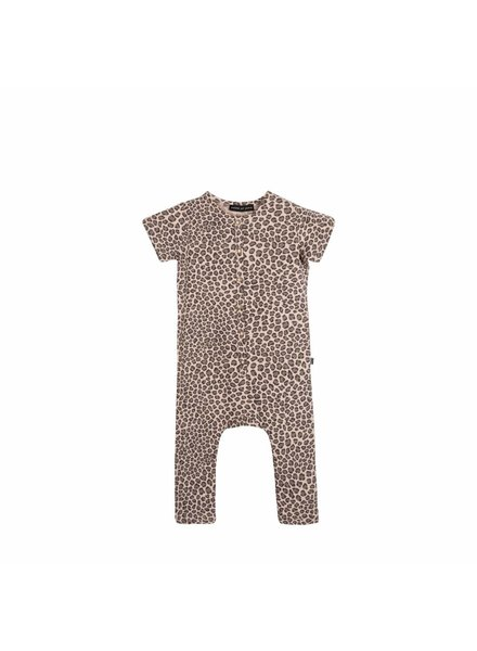 House of Jamie Jumpsuit - Caramel Leopard