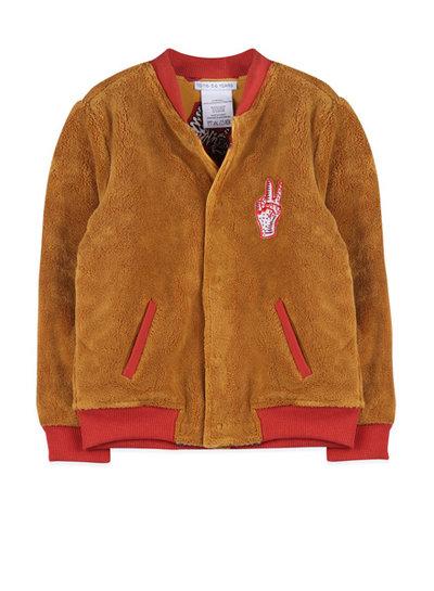 Ammehoela Jacket Ollie light camel en tiger yellow