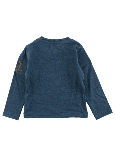 Small Rags Small Rags sweat shirt Mallard Blue