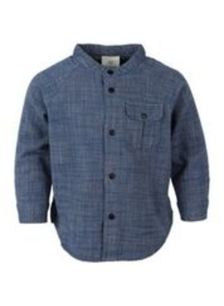 EnFant En Fant longsleeve blouse in denim blauw