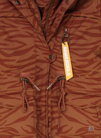 Ammehoela Winterjas Storm brown tiger