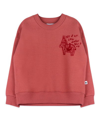 Ammehoela Sweater Rocky in soft red