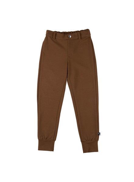 CarlijnQ Basics bruin, chino jagger broek