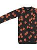 CarlijnQ Blackberry sweaterdress met vrolijke bessen print