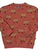 CarlijnQ Capibara rode sweater met dieren print