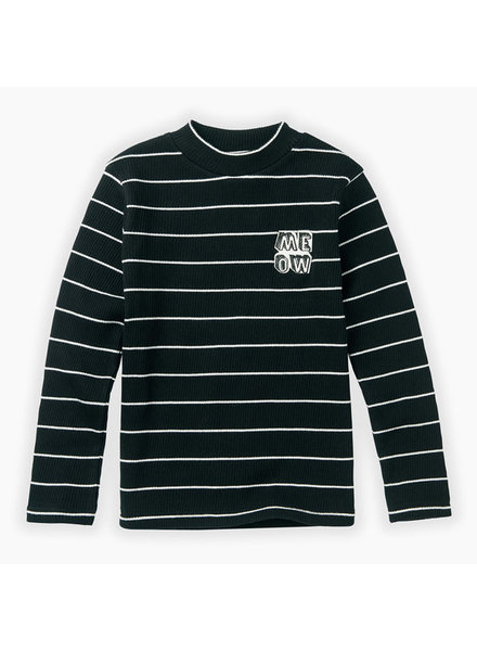 Sproet & Sprout Turtle neck t shirt stripe