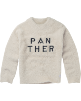 Sproet & Sprout Sweatshirt Panther text white