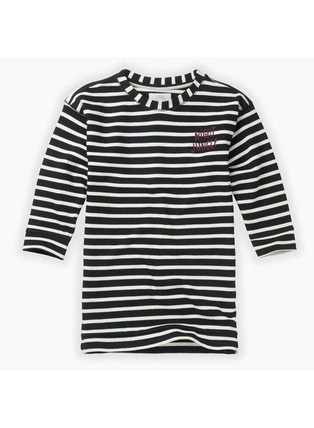 Sproet & Sprout Sweat dress Y/D stripe