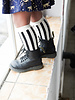 House of Jamie Knee socks Referee