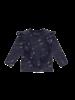 House of Jamie Front ruffled sweater stargazer