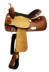 """14"""", 15"""", 16"""" Double T barrel style saddle."""