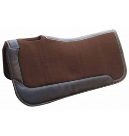 Showman ® Brown felt saddle pad.