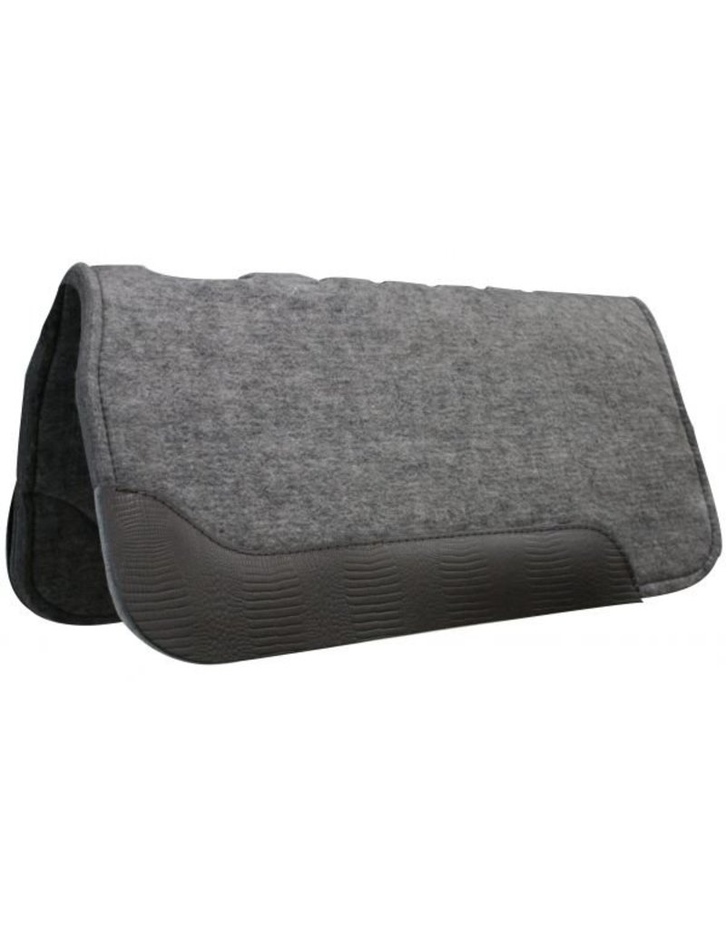 Showman ®  Thick Felt Pad with Wear Leathers.