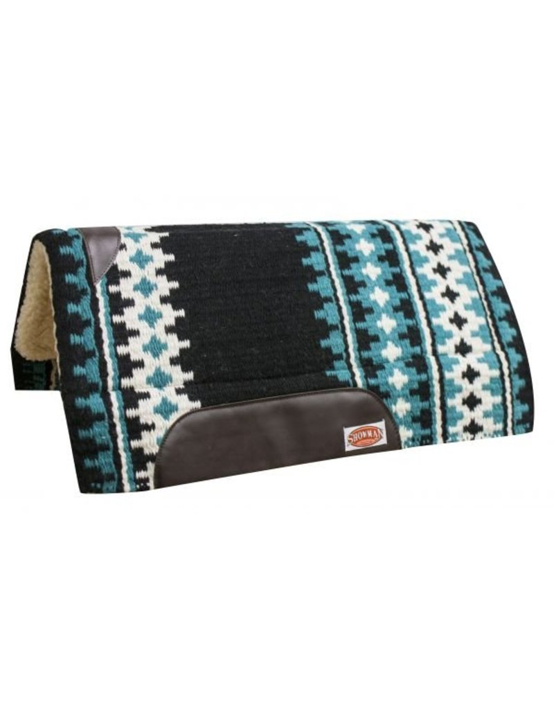 Showman ® Wool top cutter pad with EVA breathable memory felt center.