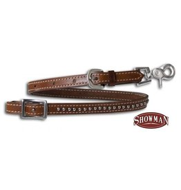 Showman ® Leather wither strap with scissor snap end.