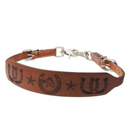 Showman ® PONY SIZE Quarter horse branded wither strap.