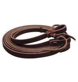 Showman ® 8ft Argentina Cowhide Leather Split Reins.