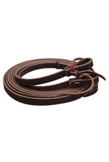 Showman ® Argentina Cowhide Leather Split Reins.