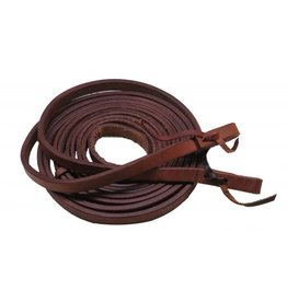 Showman ® Argentina cow leather split reins.