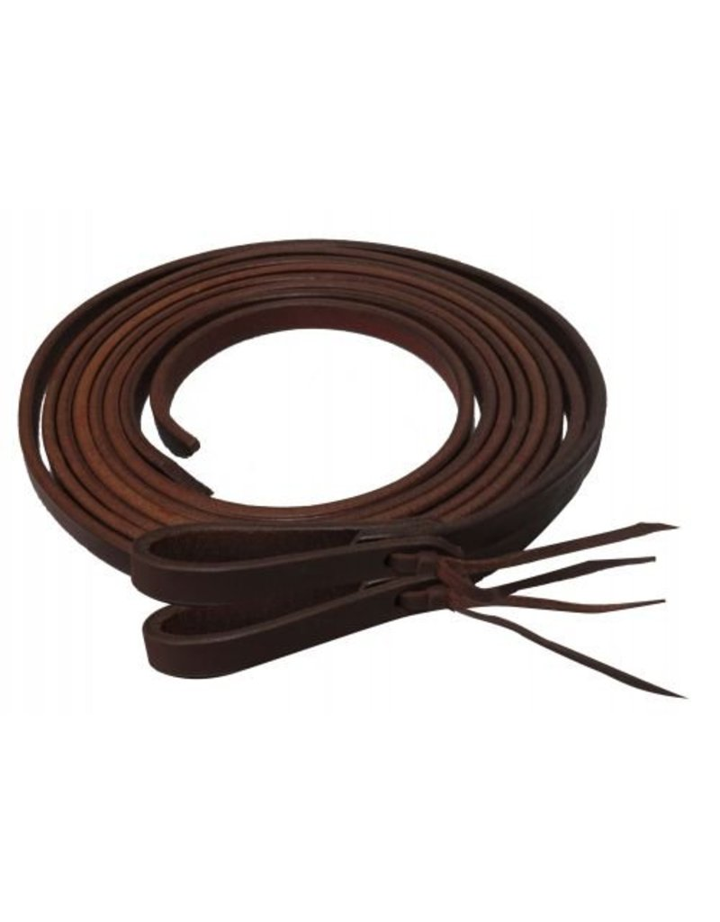 Showman ®  Oiled harness leather split reins.