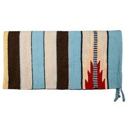 100% New Zealand wool saddle blanket.