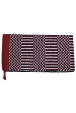 double weave saddle blanket.
