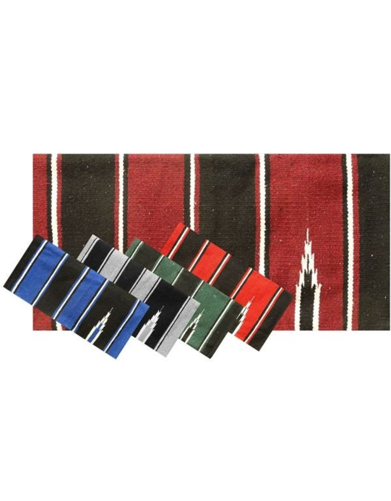 Showman ® Navajo saddle blankets.