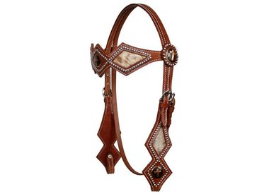 Hair- On Cowhide Headstalls