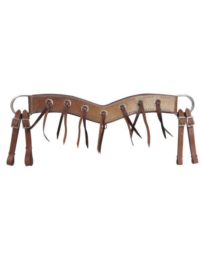 Showman ® Showman ® Hair-on cowhide tripping collar.