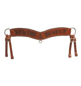"Showman ® Showman ® "" Kick Up The Dust"" tripping collar."