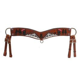 "Showman ® Showman ® ""Only a real cowboy has a chance at teaming this cowgirl's heart"" tripping collar."
