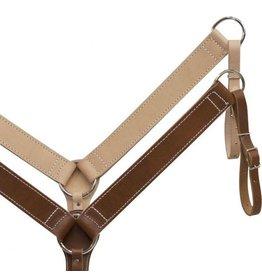 Economy style leather breastcollar.