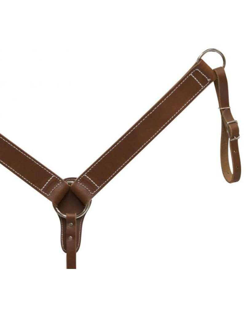 Economy style leather breastcollar.