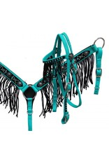 Showman ® Showman ® Pony size bling headstall and breast collar set.