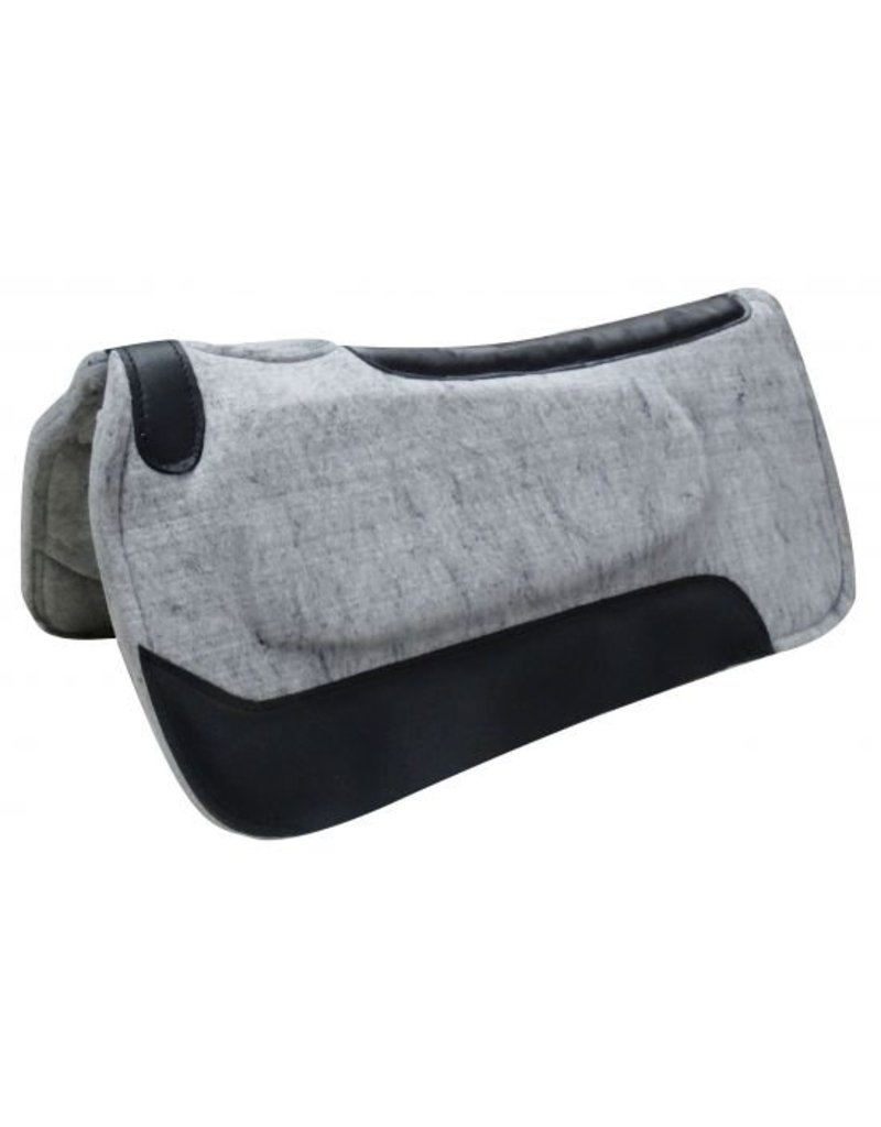 "Showman ®    Showman® 31""x 31"" Gray felt built up pad."